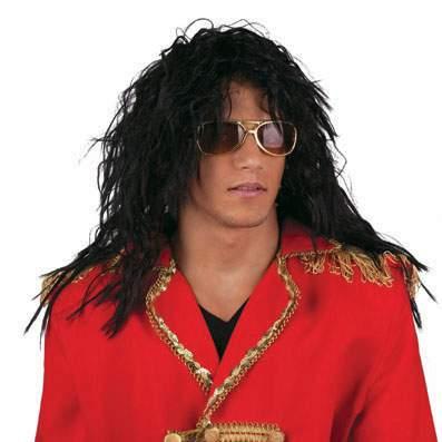 Michael Jackson / rocksztár paróka