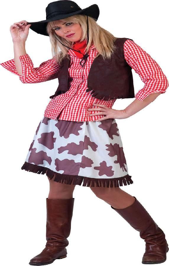 Cowgirl női farsangi jelmez