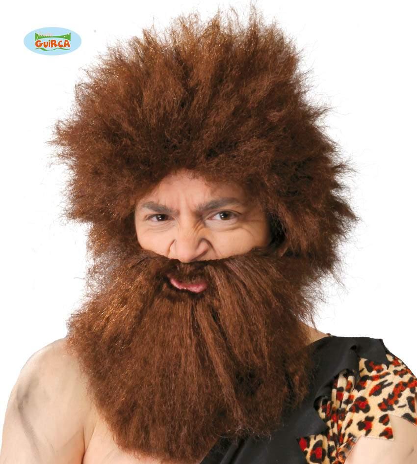 ősember paróka és szakáll