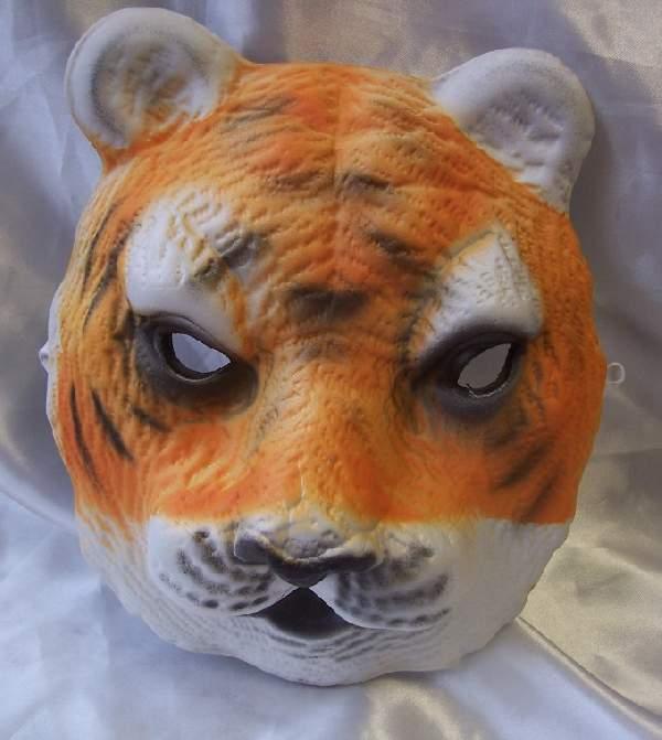 tigris álarc - polifoam (gyerek méret)