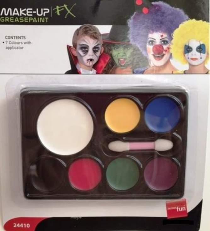 arcfesték - 7 színű