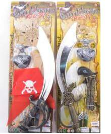 kalóz szett karddal- 2 különböző variációban