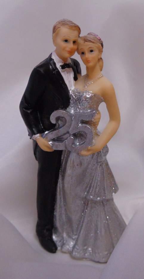 tortadísz - 25. házassági évforduló