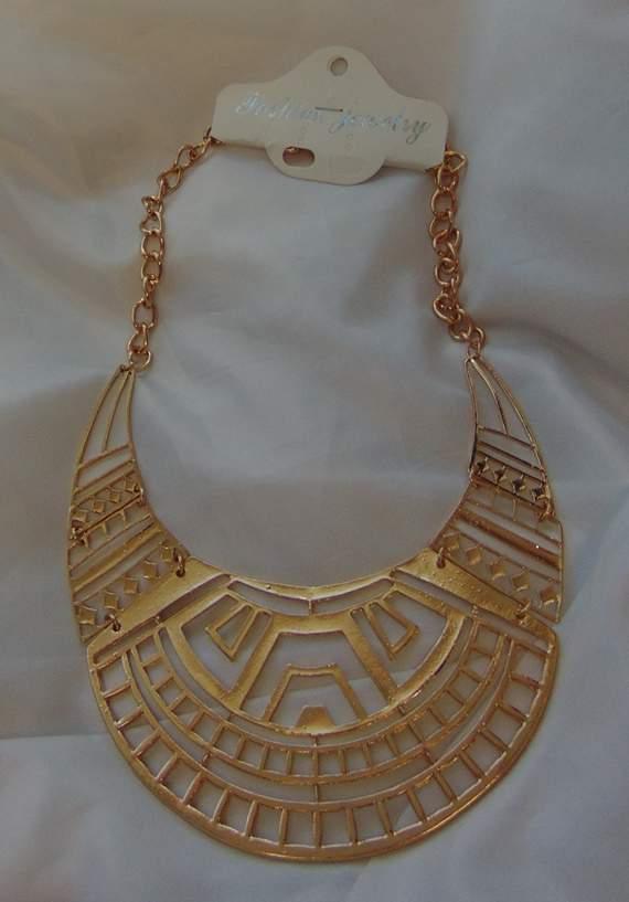 Kleopátra jelmezkiegészítő nyaklánc