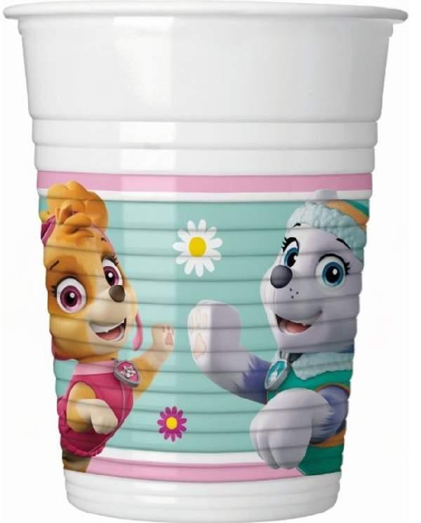 Mancs őrjárat pohár - műanyag