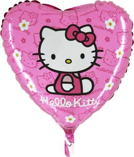 Hello Kitty rózsaszín fólia lufi (45 cm)
