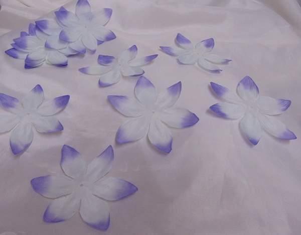 hawaii virág lila, 11 cm-s (kb 25 db)