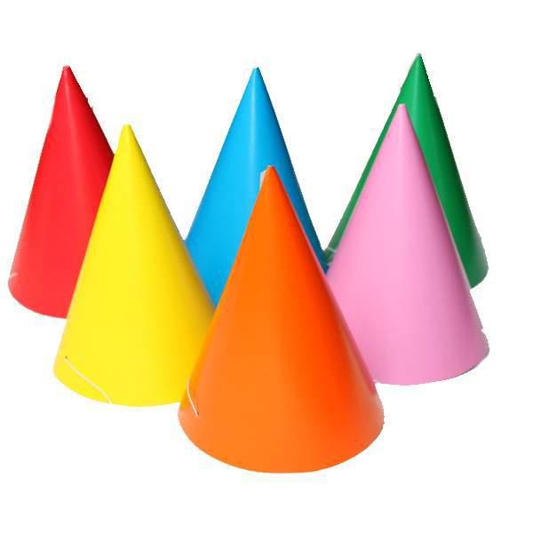 Egyszínű papírcsákó (10 db)