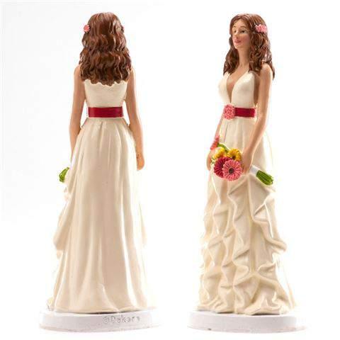 Tortadísz menyasszony -305082 (16 cm)