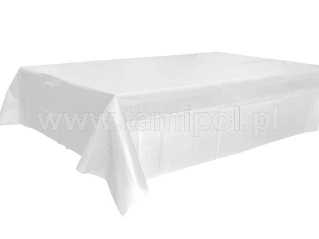 műanyag asztalterítő 120*140 cm,fehér