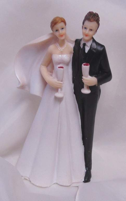 esküvői tortadísz , 13 cm-52918