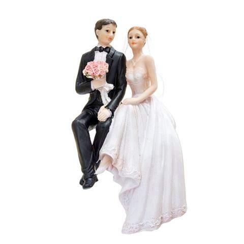 esküvői tortadísz torta szélén ülő , 18 cm-19798