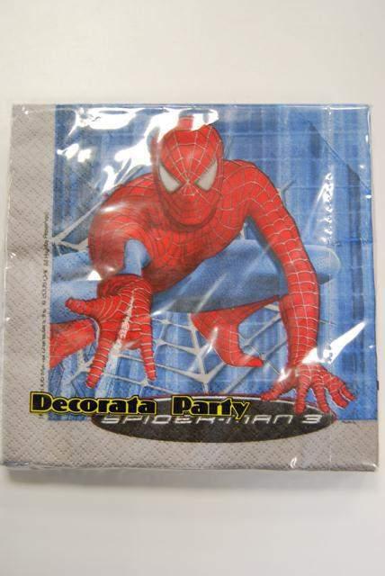 pókemberes szalvéta 20 db